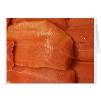 Filleted Salmon Card