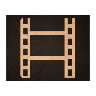 Film Actions Minimal Cork Paper Prints