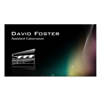 Film Assistant Cameraman Director Pack Of Standard Business Cards