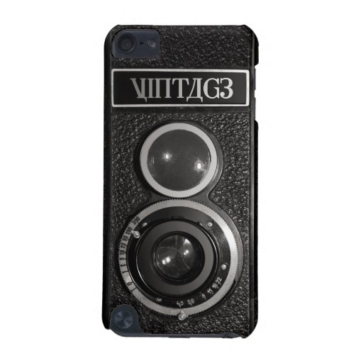 Film Camera Black Chrome Vintage iPod Touch 5G iPod Touch 5G Case