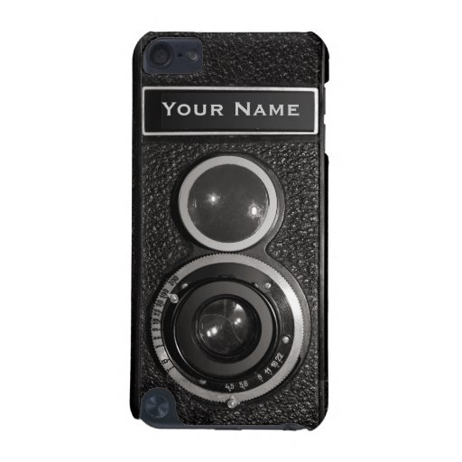 Film Camera Black Chrome Vintage iPod Touch 5G N iPod Touch (5th Generation) Cases