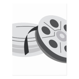 Film Cans Postcard
