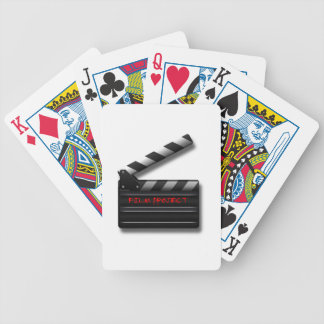 Film Clapper Bicycle Playing Cards