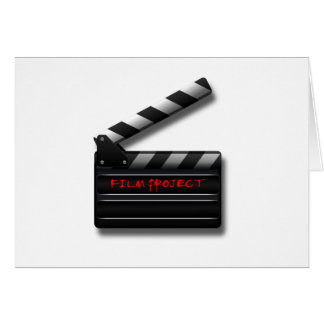 Film Clapper Card