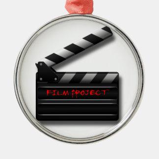 Film Clapper Metal Ornament