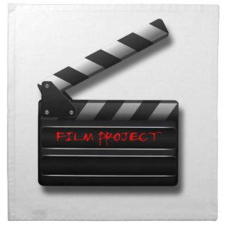 Film Clapper Napkin