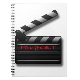 Film Clapper Notebook