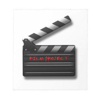 Film Clapper Notepad