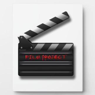Film Clapper Plaque