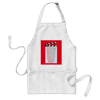 Film Crew Standard Apron