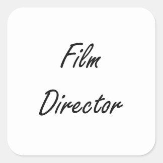Film Director Artistic Job Design Square Sticker