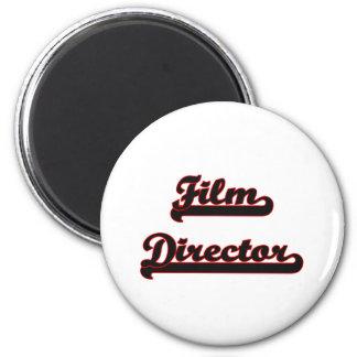 Film Director Classic Job Design 2 Inch Round Magnet