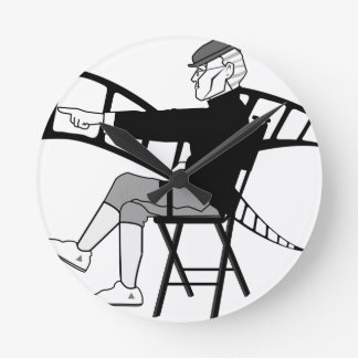 Film Director Round Clock