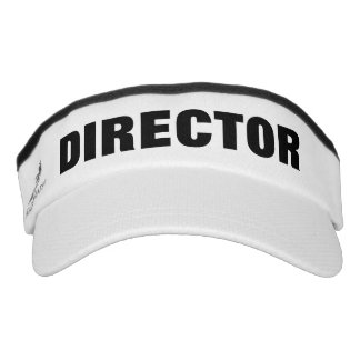 Film director sun visor cap | Custom movie hats