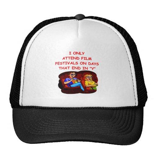 film festival trucker hats