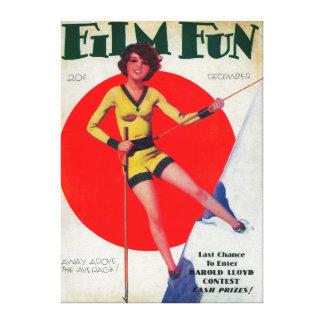 Film Fun Magazine Cover 3 Canvas Prints