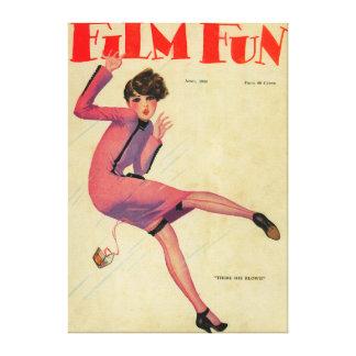 Film Fun Magazine Cover Canvas Prints