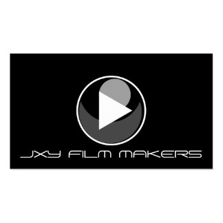 Film Maker Director Producer Movie Camera Play Business Card Templates