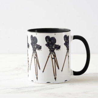 Film Makers Vintage Camera Mug