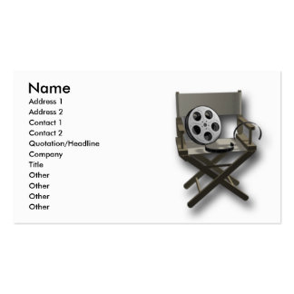 Film Movie Pack Of Standard Business Cards