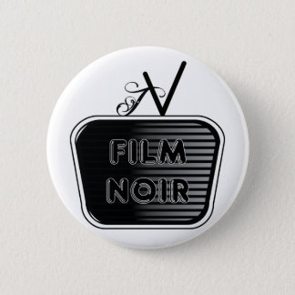 Film Noir 6 Cm Round Badge