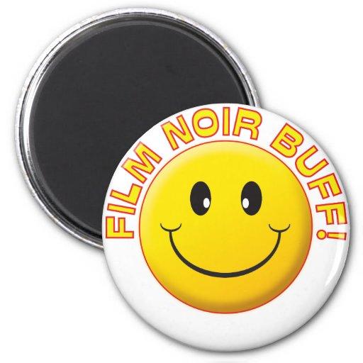 Film Noir Buff Smile Magnets