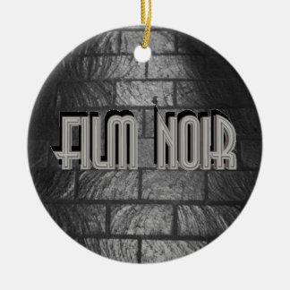 Film Noir Ceramic Ornament