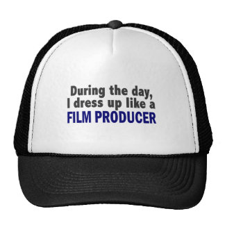 Film Producer During The Day Mesh Hats