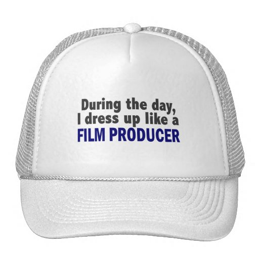 Film Producer During The Day Trucker Hats
