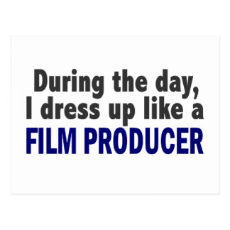 Film Producer During The Day Postcard