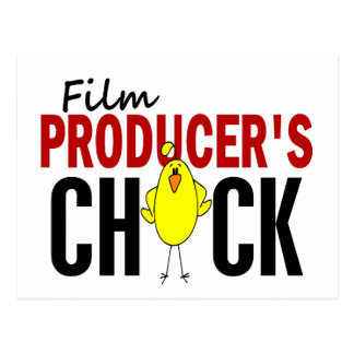 Film Producer's Chick Postcard