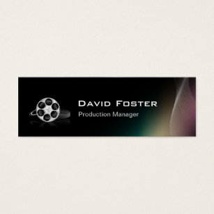 Film producer business cards business card printing zazzle film production manager director producer cutter mini business card colourmoves Image collections