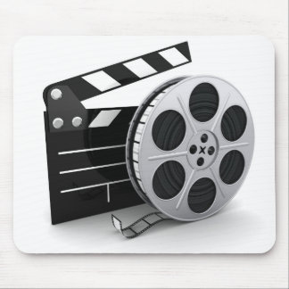 Film Reel Clapper Mousepad