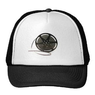 Film reel trucker hats