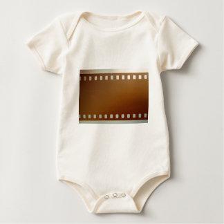 Film roll color baby bodysuit