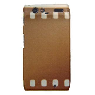Film roll color motorola droid RAZR case