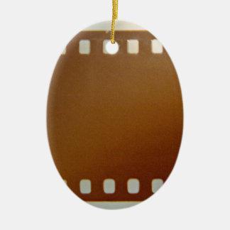 Film roll color ceramic oval decoration