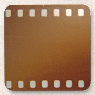 Film roll color drink coaster