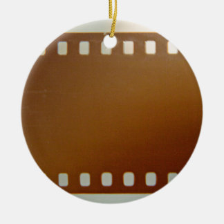 Film roll color christmas tree ornament
