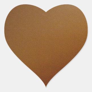 Film roll color heart sticker