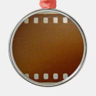 Film roll color Silver-Colored round decoration