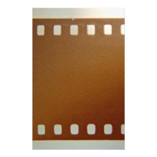 Film roll color stationery design
