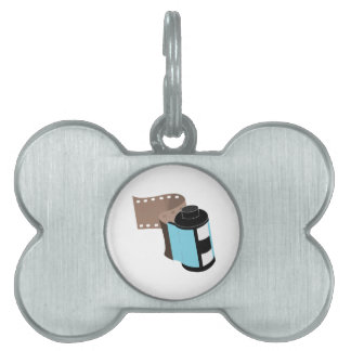 Film Roll Pet Name Tags