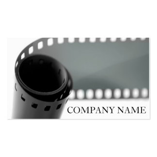 Film Roll Photography Pack Of Standard Business Cards