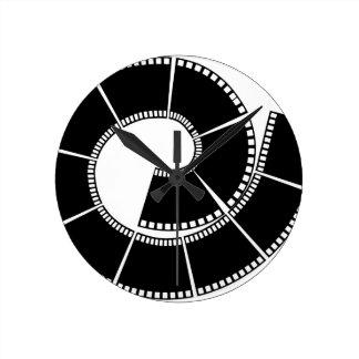Film Round Clock