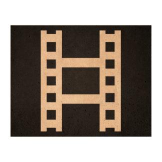 Film Scenes Minimal Cork Paper Prints