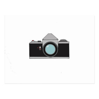 Film SLR Camera Postcard