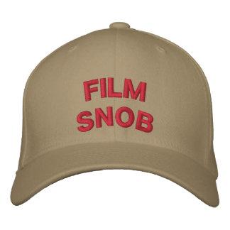FILM SNOB BASEBALL CAP