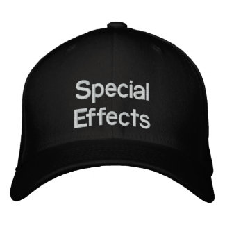 FILM SPECIAL EFFECTS HAT EMBROIDERED HATS