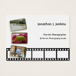 Film Strip and Frames Photography Business Cards